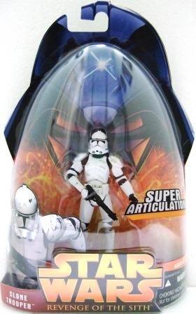 2006 - Clone Trooper #41 - Super Articulation - Star Wars - Episode III - Revenge of the Sith