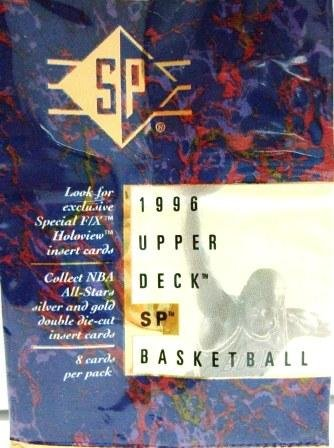 1995-96 - Upper Deck - SP - NBA Basketball Card Set Series - #1-167