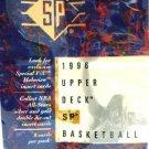 1995-96 - Upper Deck - SP - NBA Basketball Card Set Series - #1-167