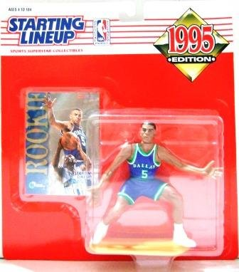 1995 - Jason Kidd - Starting Lineups - Basketball - Mavericks - Action Figures - Rookie Slu