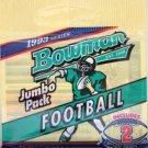 1993 - Topps - Bowman - NFL Football - Jumbo Pack - 2 Foil Cards