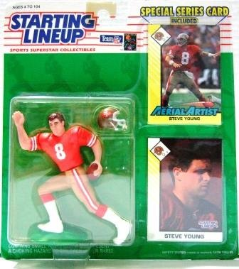 1993 - Steve Young - Action Figures - Starting Lineups - Football - 49er's