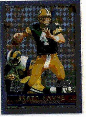 1996 - Brett Favre - Topps - Chrome - #145