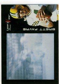 1996 - Brett Favre - Pinnacle - Laser View - #7
