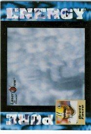 1996 - Brett Favre - Pinnacle - Laser View - Pure Energy - #34