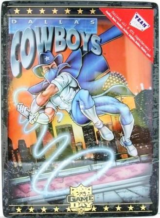 1994 - Dallas Cowboys - NFL - Game Day - Team Metal - Football Card