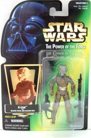 1997 - 4-Lom - Star Wars - The Power of the Force - Green Card - Hologram