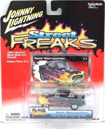 2005 - Nash Metropolitan - Street Freaks - Johnny Lightning - Die-cast Metal Cars