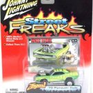 2005 - '70 Plymouth Cuda - Street Freaks - Johnny Lightning - Die-cast Metal Cars