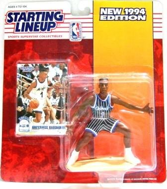 1994 - Anfernee Hardaway - Action Figures - Starting Lineups - Basketball - Magic - Rookie Slu