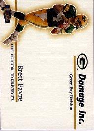 1998 - Brett Favre - Fleer Ultra - Damage Inc. - #14 of 15 DI