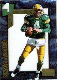 1996 - Brett Favre - SkyBox - Premium - MVP 4 - Die-Cut