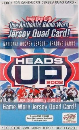 2002 - Pacific - Heads Up - NHL - Hockey - Sports Cards