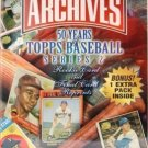 2001 Topps Archives Baseball Series 2