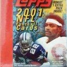 2001 - Topps - NFL Football - Sports Card Box