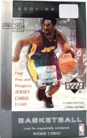 2001/02 - Upper Deck - Pros & Prospects - NBA Basketball - Sports Cards