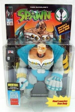 1994 - Overtkill - Action Figures - McFarlane Toys - Spawn - Series 1