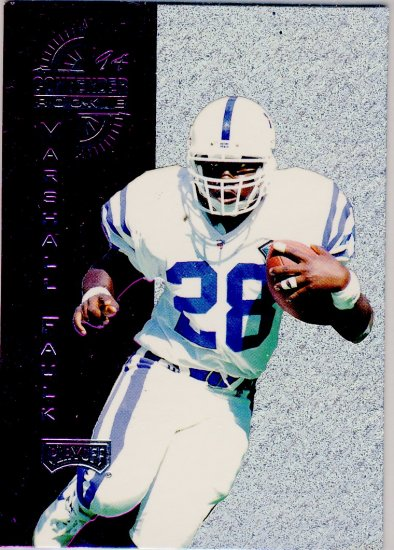 1994 - Marshall Faulk - Playoff - Contender - Rookie - #4 of 6