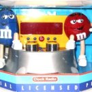 M&M's AM/FM Clock Radio