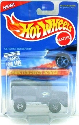 1996 - Hot Wheels - Oshkosh Snowplow - Flamethrower Series - Collector #387