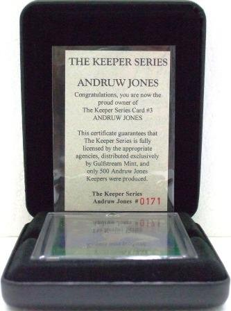 1997 - Andruw Jones - Gulfstream Mint - The Keeper Series - Card #3