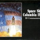 1981-1991 - Republic of the Marshall Islands - Space Shuttle Columbia - $5 Commemorative Coin