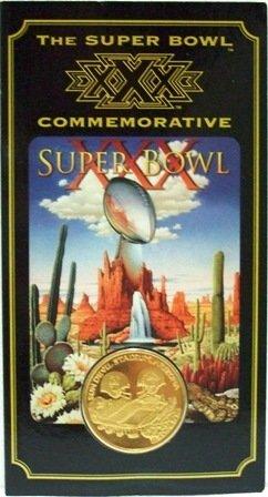 The 1996 Super Bowl Commemorative XXX Coincard