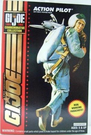 1964-1994 - Action Pilot - Hasbro Toy - G.I. Joe - 30th Salute - Commemorative Collection