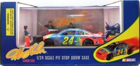 1995 - Jeff Gordon - Racing Champions - 1/24 Scale Pit Stop Show Case - Signature Series