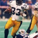 "Byron ""Bam"" Morris - Signature Rookies - Limited Edition -  Steelers - Autographed - Photograph"