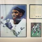 1995 - Deion Sanders - KRSI - Original Art - Limited Edition - Individually Numbered Print