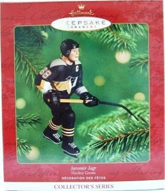 2001 - Jaromir Jagr - Hallmark - Hockey Greats - Keepsake - Ornament - 5th in Series