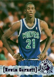 1995-96 - Kevin Garnett - Topps - Stadium Club - Rookie Card #343