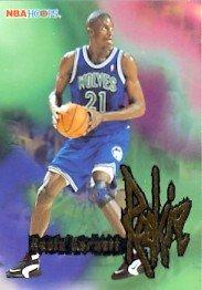 1995-96 - Kevin Garnett - NBA Basketball - SkyBox- NBA Hoops - Rookie Card #272