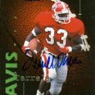 1995 - Terrell Davis - Signature Rookies - Fame & Fortune - Autographed Rookie Card