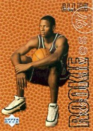 199697 ray allen nba basketball upper deck rookie