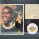 "1996 - Earvin ""Magic"" Johnson - KRSI - Original Art - Limited Edition - Individually Numbered Print"
