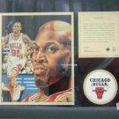 1996 - Dennis Rodman - KRSI - Original Art - Limited Edition - Individually Numbered Print