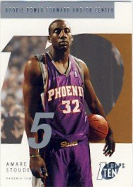 2002-03 - Amare Stoudemire - 1 Ten - NBA Basketball - Rookie Card #145