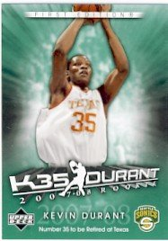 2007/08 - Kevin Durant - NBA Basketball - Upper Deck - First Edition - Rookie Card #KD1