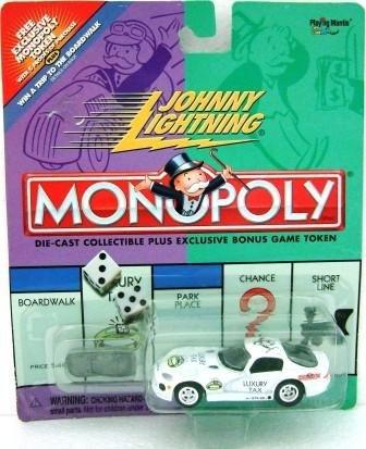 2001 - Johnny Lightning - Monopoly - Luxury Tax Dodge Viper