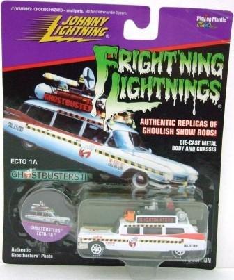 1997 - ECTO 1A Ghostbuster - Fright'ning Lightnings - Johnny Lightning - Die-cast Metal Cars