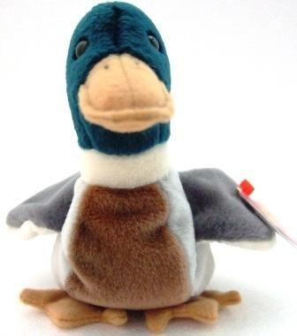 Ty - The Original - Beanie Baby - Jake - Duck - Plush Toys