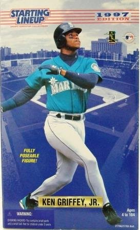 1997 - Ken Griffey Jr. - Sports Action Figures - Starting Lineups - 12 Inch - Baseball - Mariners