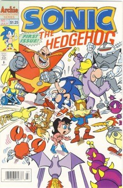 1993 - Archie Comic - Sonic - The EdgeHog - 1st Spectacular Issue - Comic Book