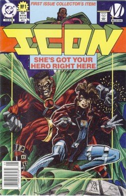 1993 - DC Comics - Icon - First Issue Collector's Item