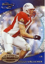 2000 - Brian Urlacher - Leaf - Quantum - Rookie Card #312