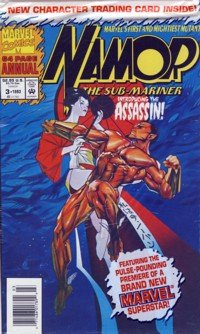 1993 - Marvel Comics - Namor - The Sub-Mariner - 64 Page Annual - Comic Book