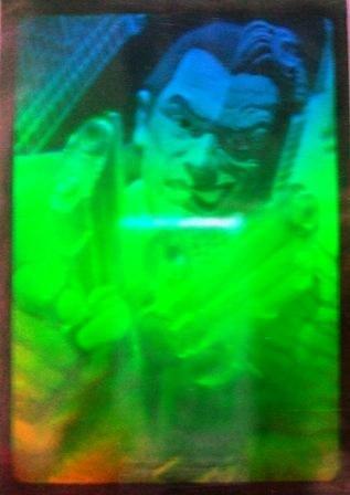1995 - Fleer Entertainment - DC Comics - Batman Forever - Hologram - Two Face