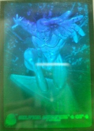 1994 - Marvel Cards - Universe - Silver Surfer - Hologram - Card #4 of 4